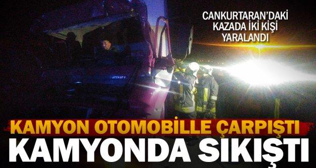 Cankurtaran'daki kazada iki kişi yaralandı