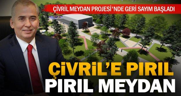 Çivril Meydan Projesi'nde geri sayım başladı