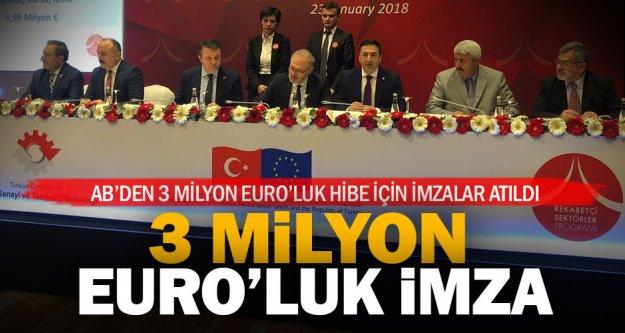 Denizlili tekstilciye AB'den 3 milyon Euro hibe desteği