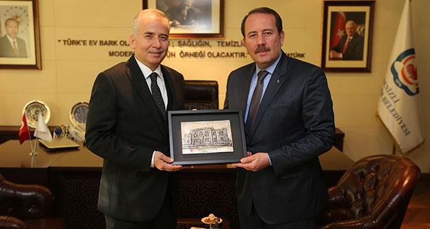 Genel Başkan Yardımcısı Karacan'dan Başkan Zolan'a ziyaret