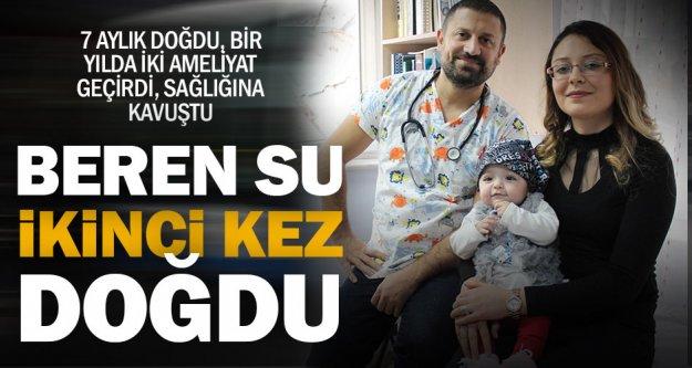 Minik Beren Su, iki ameliyatla yaşama tutundu