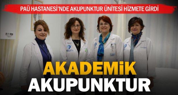 PAÜ Hastanesi ağrılara karşı akupunktur ünitesi kurdu