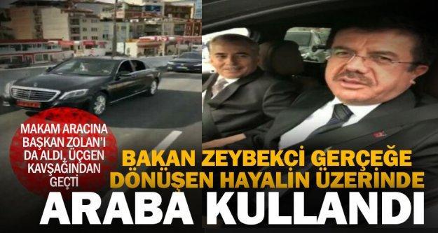 Üçgen Kavşağı'nın İzmir-Antalya bağlantısı hizmete girdi