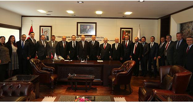 Vakıfbank'tan Başkan Zolan'a ziyaret