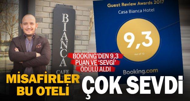 Yurt içi ve dışından gelen misafirler değerlendirdi, Booking.com'dan ödül geldi