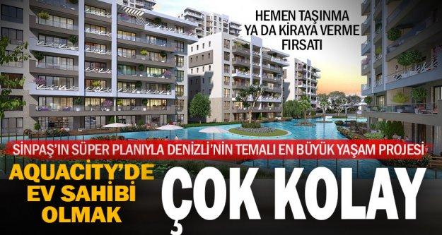 AquaCity'den ev almak için Sinpaş'tan 'Süper Plan'