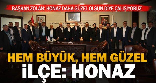 Başkan Zolan: 'Tek derdimiz hizmet'