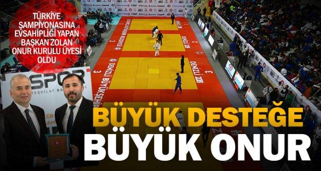 Büyükşehir'den spora büyük destek