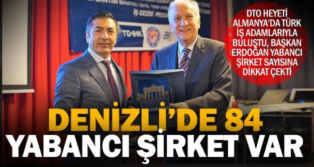 DTO heyeti, Berlin'deki Türk iş adamlarıyla buluştu