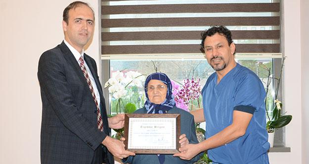Fatma Teyze sayesinde damar hastalıkları erken teşhis edilecek