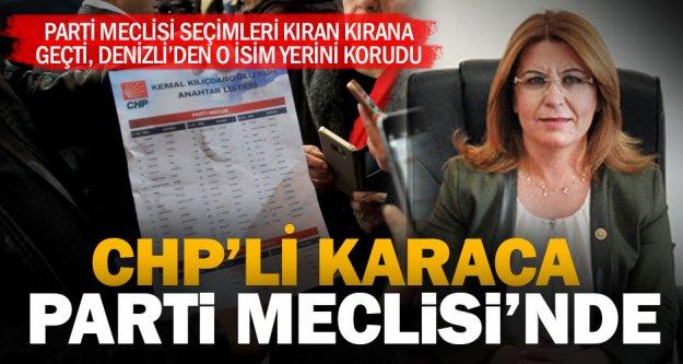 Gülizar Biçer Karaca ikinci kez CHP Parti Meclisi'nde