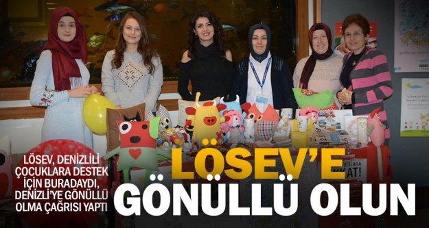 LÖSEV Denizli'ye 'gönüllü olun' çağrısı
