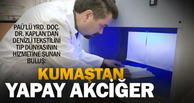 Pamukkale Üniversitesi'nden kumaştan yapay akciğer modülü çalışmaları