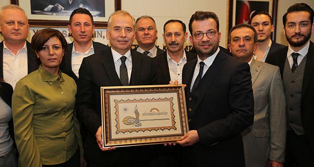 Partililerden Başkan Zolan'a nazar duası