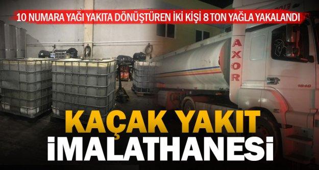 Polisin kaçak yakıt baskını