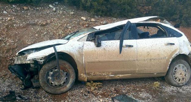 Tatil dönüşü kaza: Aynı aileden 4 kişi yaralandı