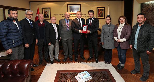 Türk Ocakları'ndan Başkan Zolan'a ziyaret