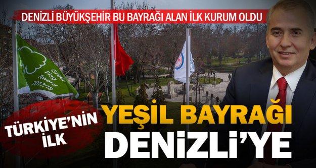 Türkiye'nin ilk 'Yeşil Bayrak' ödülü Büyükşehir'e