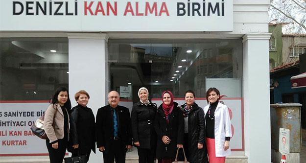 Ak Partili kadınlar kan bağışladı