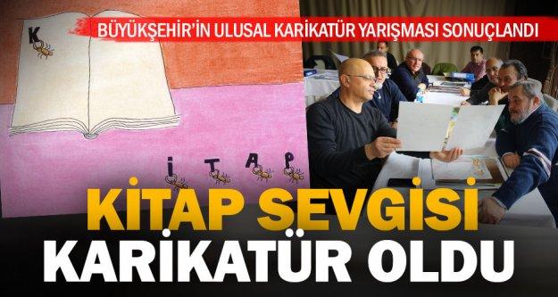Büyükşehir Ulusal Karikatür Yarışması sonuçlandı