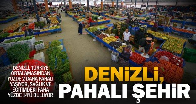 Denizli, Aydın ve Muğla Türkiye'den yüzde 2 pahalı yaşıyor