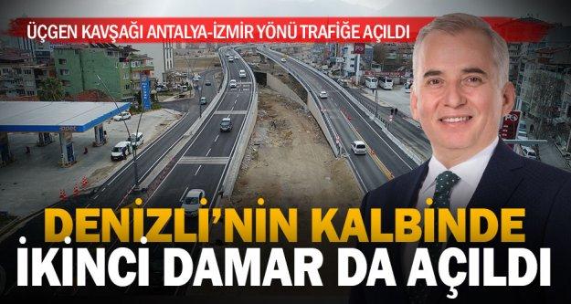 Dev Projede Antalya-İzmir istikameti de trafiğe açıldı