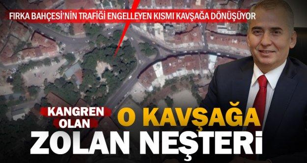 Kangren Kavşak, Başkan Zolan'ın girişimleriyle genişleyecek