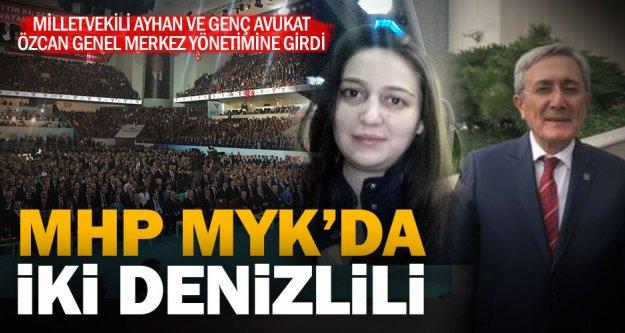 MHP'nin Merkez Yürütme Kurulu'nda iki Denizlili