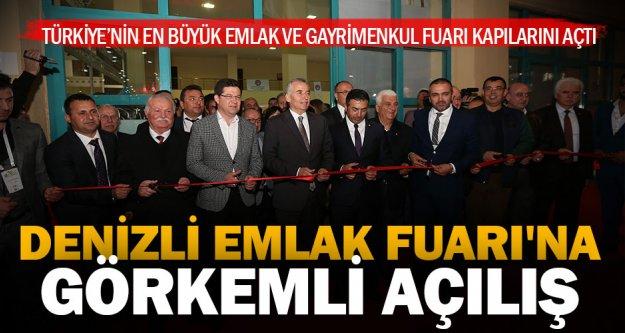 Türkiye'nin en büyük Emlak ve Gayrimenkul Fuarı Denizli'de kapılarını açtı
