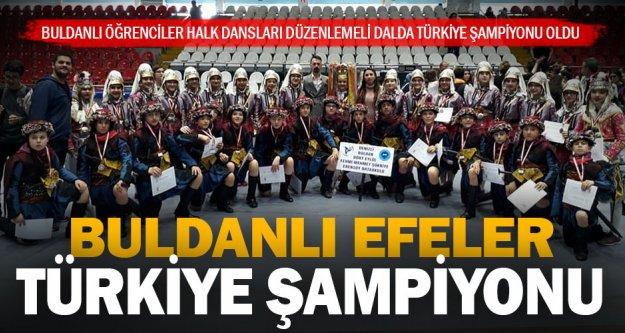 Buldanlı öğrenciler Türkiye şampiyonu