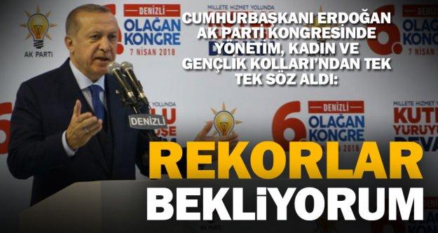 Cumhurbaşkanı Erdoğan: 16 Nisan'daki ataleti üzerinden söküp atmış bir Denizli gördüm