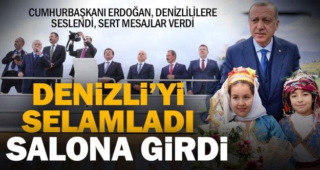 Cumhurbaşkanı Erdoğan, halka seslendi