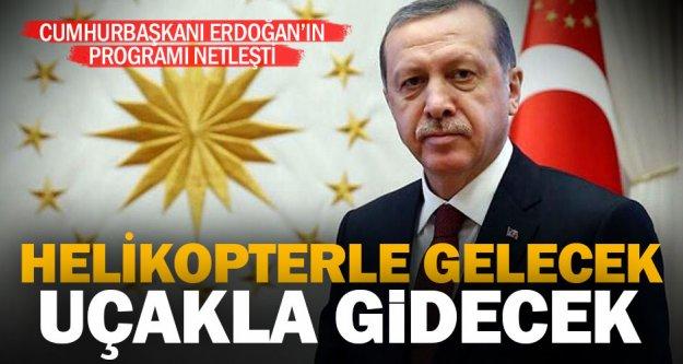 Cumhurbaşkanı Erdoğan, öğleden sonra Denizli'de