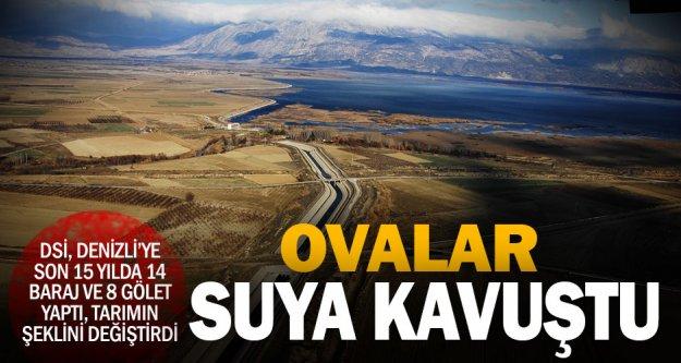 Denizli'ye son 15 yılda 14 gölet yapıldı