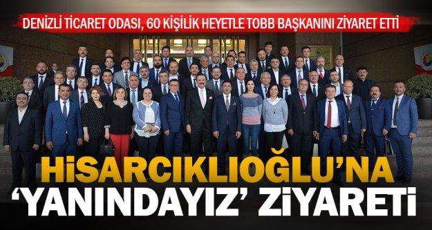 DTO'dan Hisarcıklıoğlu'na 60 kişilik heyetle ziyaret