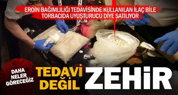 Eroin bağımlılığı tedavisinde kullanılan ilaç bile uyuşturucu olarak satılıyor