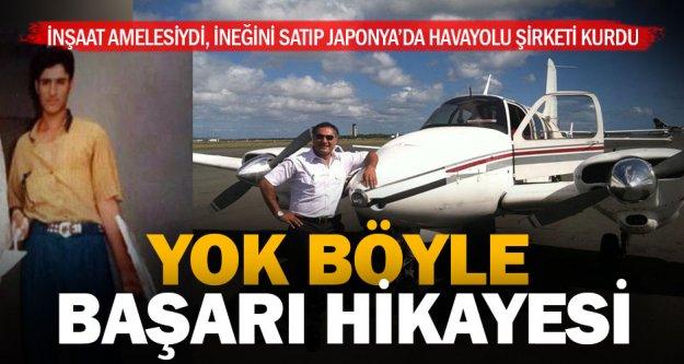 İneğini satıp gittiği Japonya'da havayolu şirketi kurdu