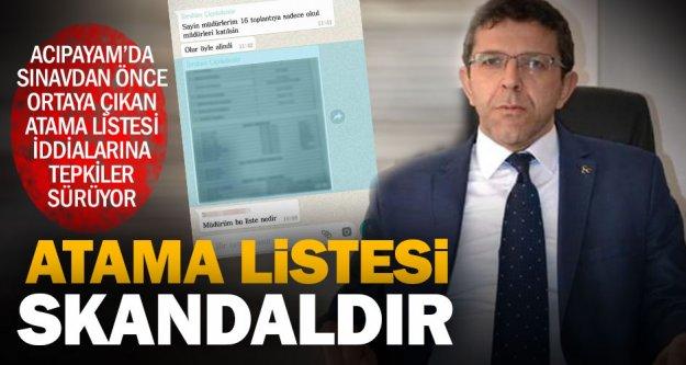 İYİ Partili Öztürk'ten atama listesi iddiasına tepki: Bu bir skandaldır