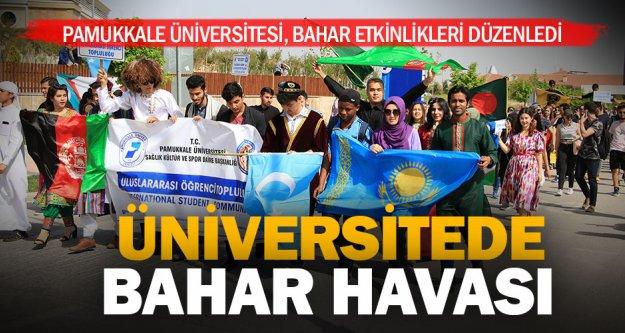 Pamukkale Üniversitesi'nde bahar etkinlikleri başladı