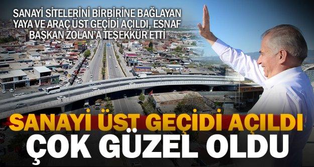 Sanayi Bağlantı Köprüsü trafiğe açıldı