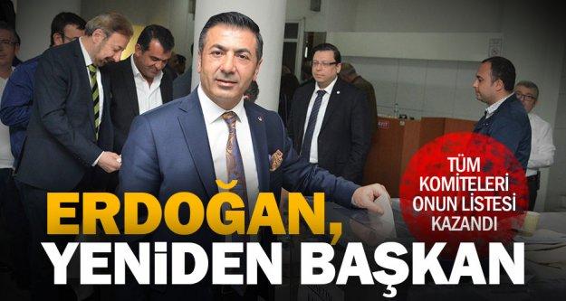 Tüm komiteleri kazanan Erdoğan, DTO'da tekrar başkan