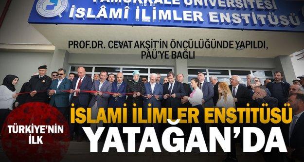 Türkiye'nin ilk İslami İlimler Enstitüsü Yatağan'da açıldı
