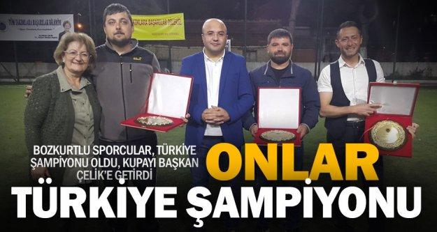 Atıcılıkta Türkiye şampiyonu, Bozkurt oldu