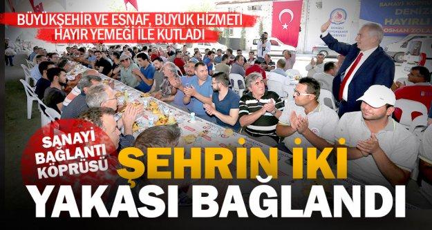 Başkan Zolan: Sanayi Bağlantı Köprüsü Denizlimize çok yakıştı