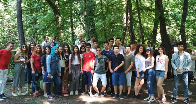 Başkandan öğrencilere gezi teşekkürü