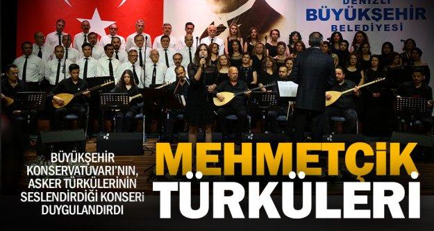 Büyükşehir'den Mehmetçik Türküleri