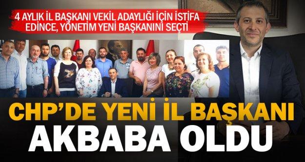 Cumhuriyet Halk Partisi Denizli İl Başkanlığı'na Mahir Akbaba seçildi
