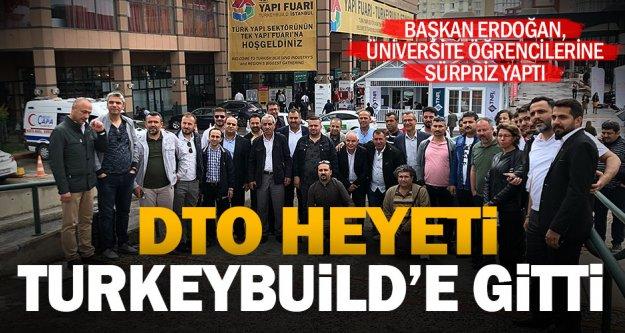Denizli Ticaret Odası üyeleri ile PAÜ öğrencileri, İstanbul'da