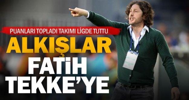 Denizlispor'da alkışlar Tekke'ye