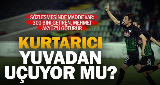 Denizlispor'da Mehmet Akyüz tehlikesi